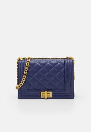 EVA BAG - Handbag - navy/antique gold-coloured