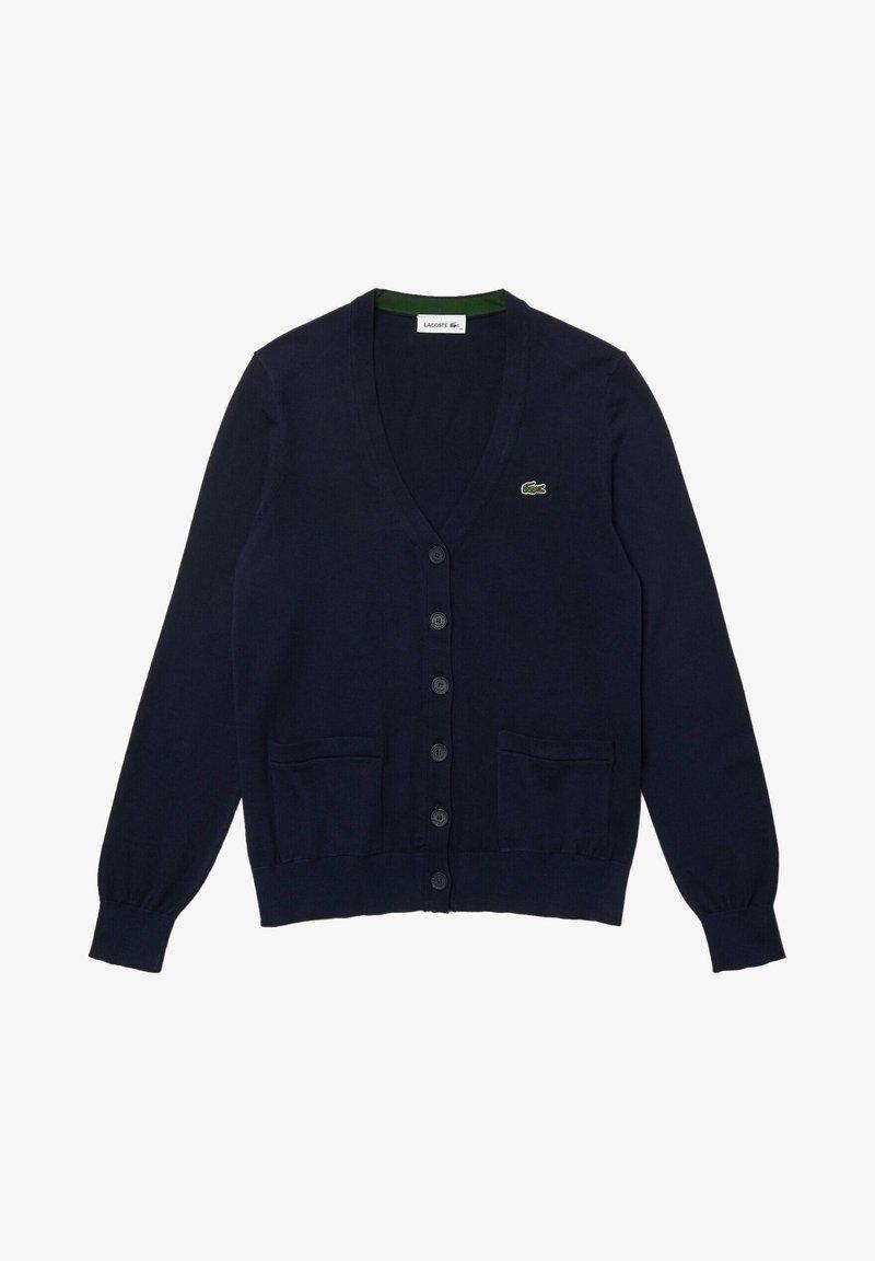 Lacoste - Cardigan - navy blau
