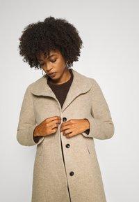 comma - Classic coat - brown mel - 4
