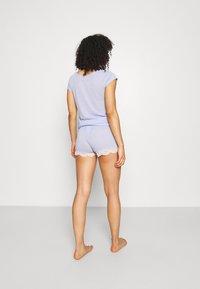 Etam - WARM DAY SHORT - Pantalón de pijama - bleu - 2