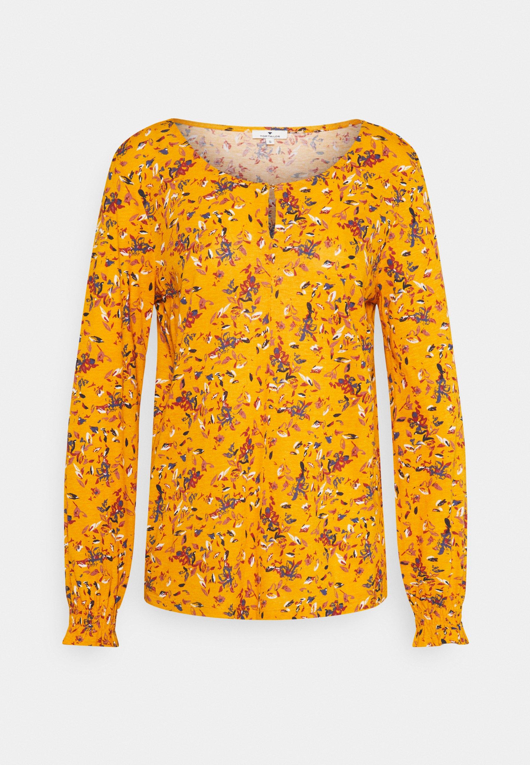 Women LEAVE - Long sleeved top