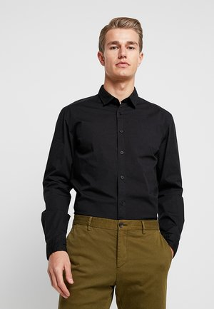 SOLIST SLIM FIT - Koszula - black
