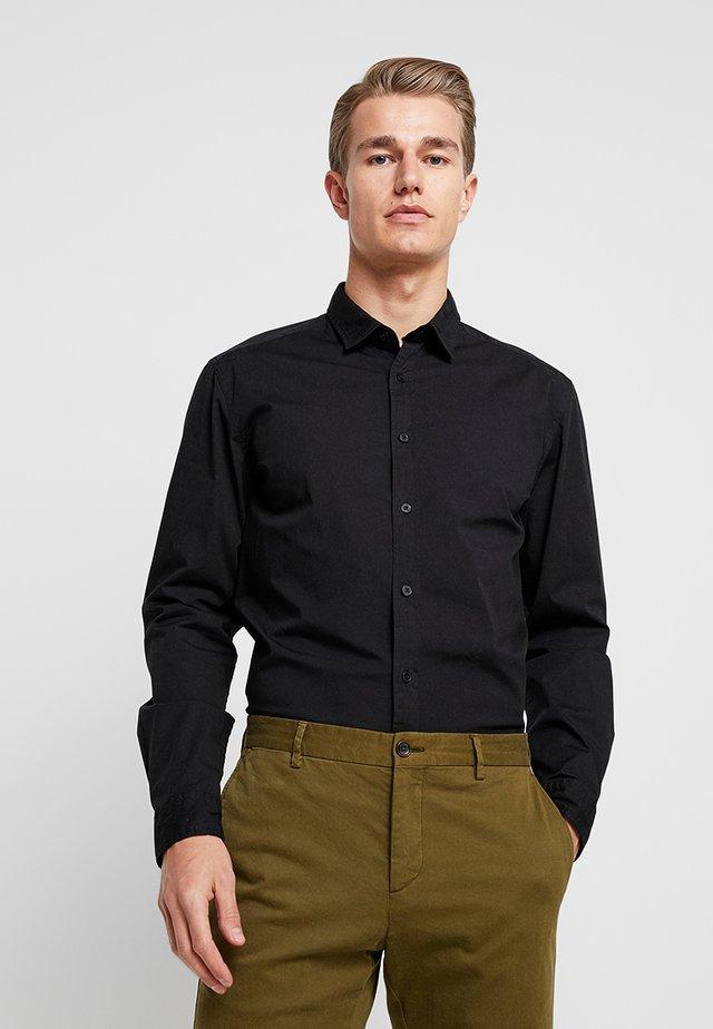 SOLIST SLIM FIT - Koszula - black