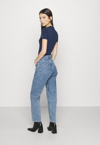 Tommy Jeans - HARPER - Straight leg jeans - marcia mid blue - 2