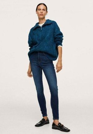 SOHO HIGH-WAIST - Jeans Skinny Fit - dark blue