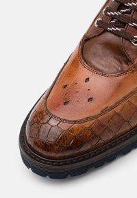Melvin & Hamilton - TREVOR  - Lace-up ankle boots - cognac - 5