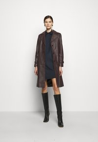 MAX&Co. - AUGURI - Košilové šaty - midnight blue - 1