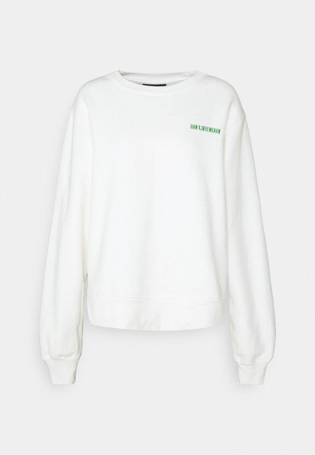 BULKY CREW - Sweatshirt - offwhite