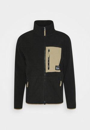 TURNA JACKET - Fleece jacket - black