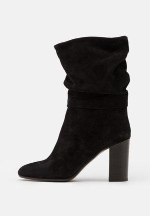 Laarzen met hoge hak - noir