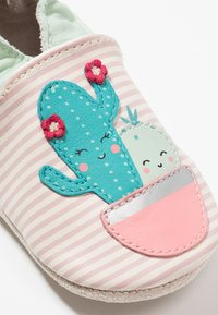 Robeez - CACTUS - First shoes - blanc/rose - 5