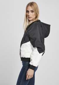 Urban Classics - Bomber Jacket - black/white - 3