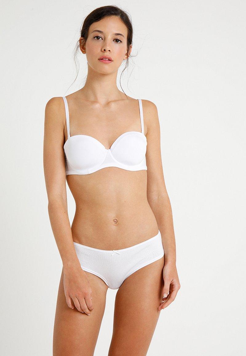 Zalando Essentials - 2 Pack - Multiway / Strapless bra - white/black