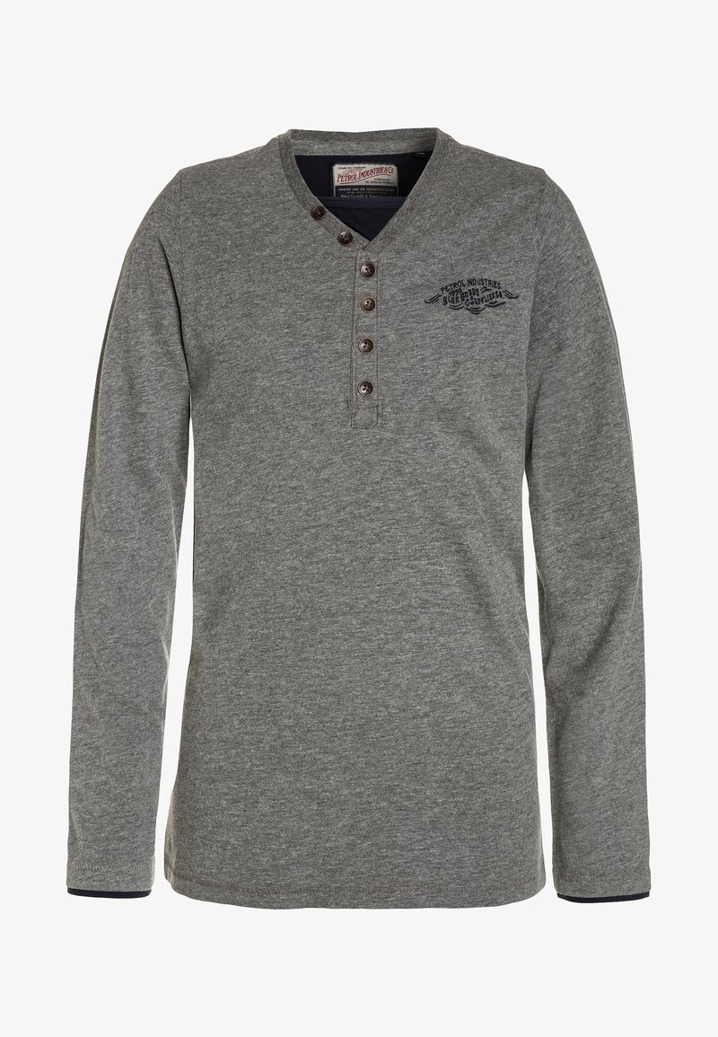Petrol Industries - Long sleeved top - light slate melee