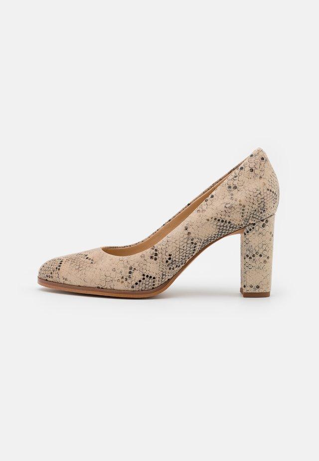 KAYLIN CARA - Classic heels - taupe