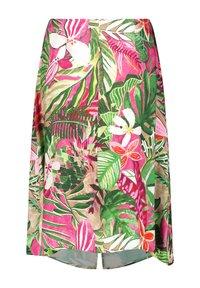 Gerry Weber - Wrap skirt - lila pink grün druck - 4
