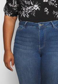 JUNAROSE - by VERO MODA - JRFOUR - Slim fit jeans - medium blue denim - 4