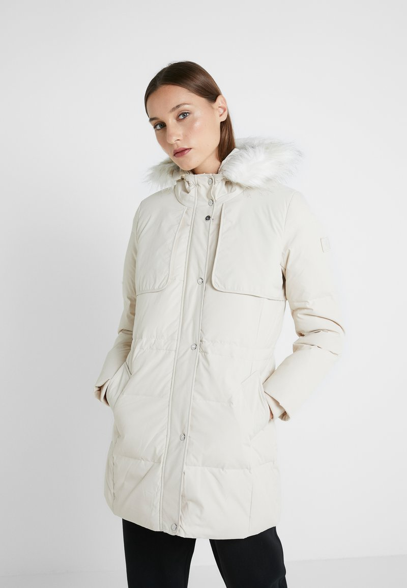 Lauren Ralph Lauren - HAND SHILD - Down coat - moda cream