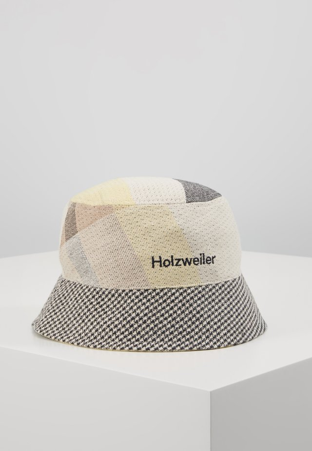 PAFE BUCKETHAT CHECK - Cappello - yellow check