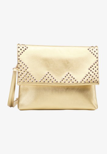 Across body bag - gold