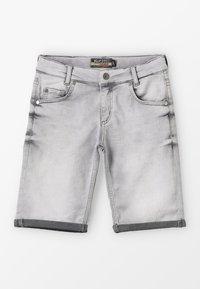 Blue Effect - BOYS BASIC - Denim shorts - grey medium - 0