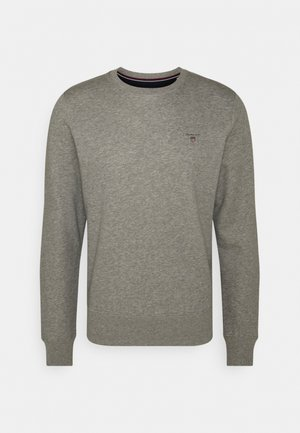 ORIGINAL C NECK - Sweatshirt - grey melange
