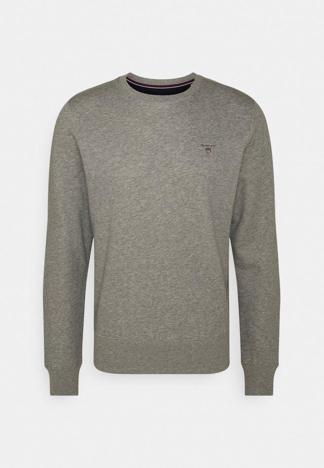 ORIGINAL C NECK - Sweatshirts - grey melange