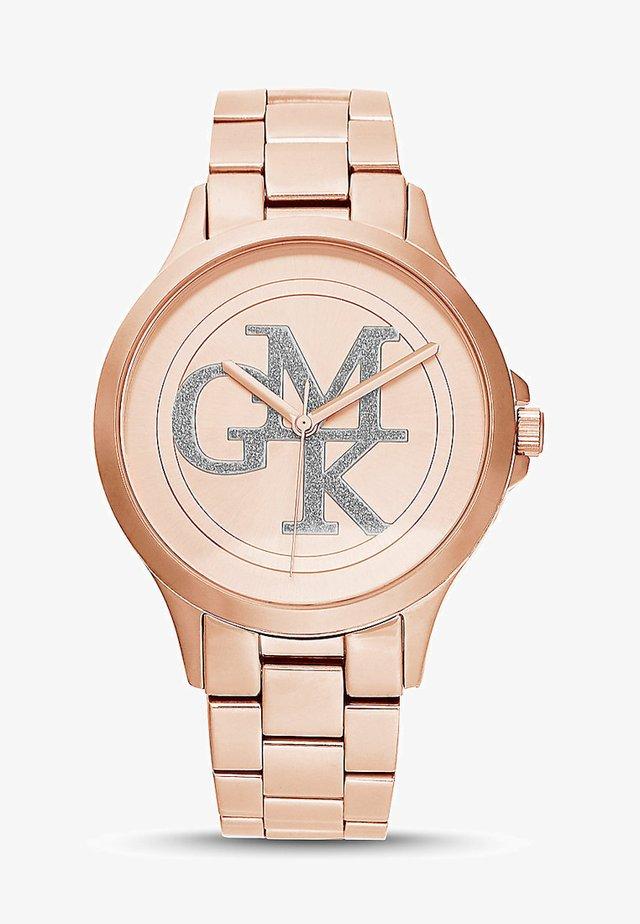 DAMEN-UHREN ANALOG QUARZ - Watch - rosé