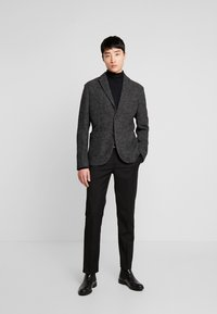 Sisley - Suit jacket - mottled dark grey - 1