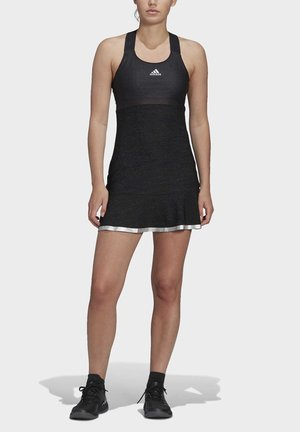 GLAM ON TENNIS Y-DRESS - Sports dress - black