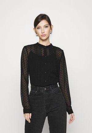 VMTHEA SHIRT  - Button-down blouse - black
