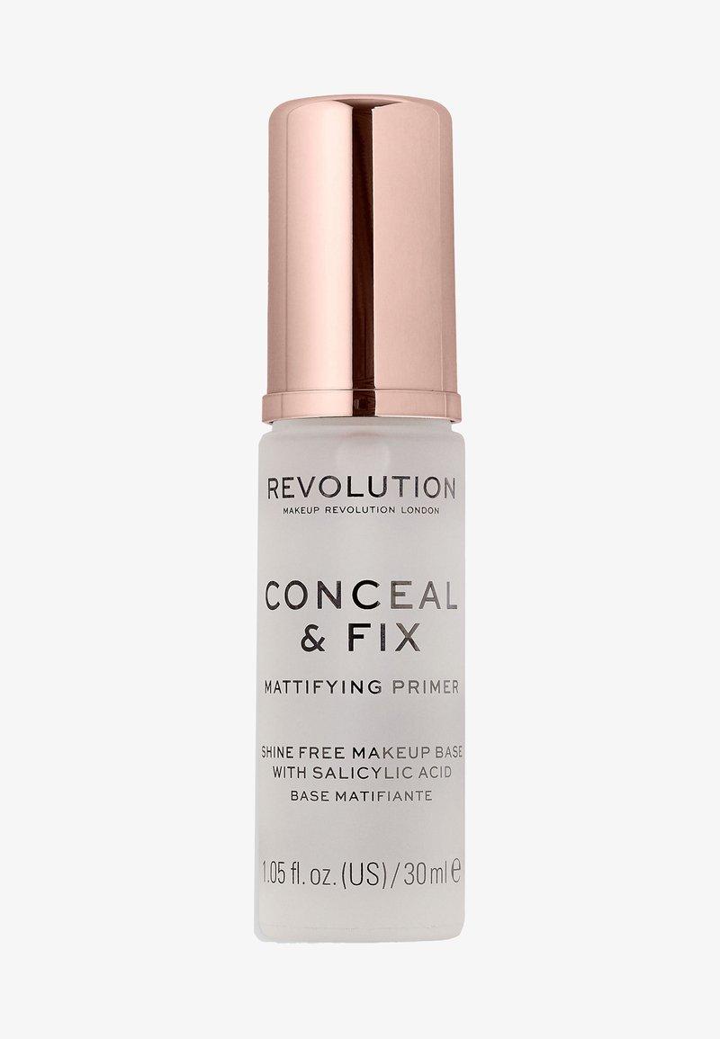 Make up Revolution - REVOLUTION CONCEAL & FIX MATTIFYING PRIMER - Primer - -