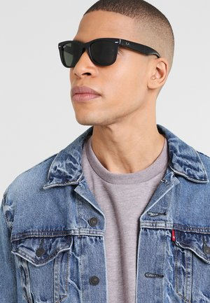 FOLDING WAYFARER - Sunglasses - black