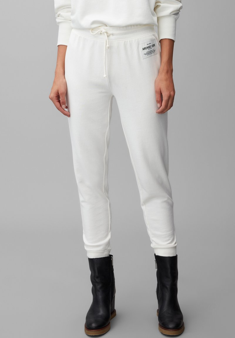 Marc O'Polo - Tracksuit bottoms - off white