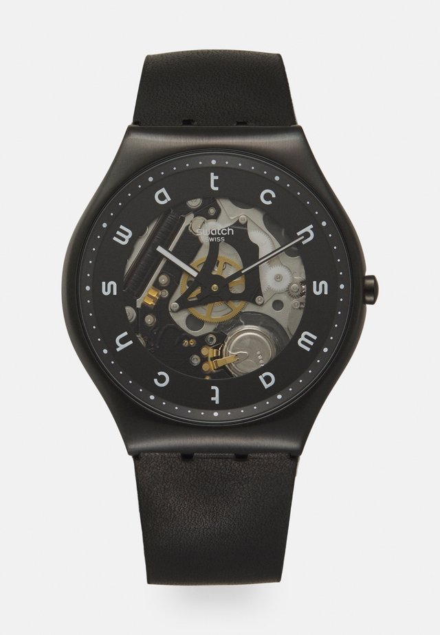 WHITE SIDE - Reloj - black
