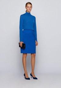 BOSS - VACRIBA - Pencil skirt - light blue - 1
