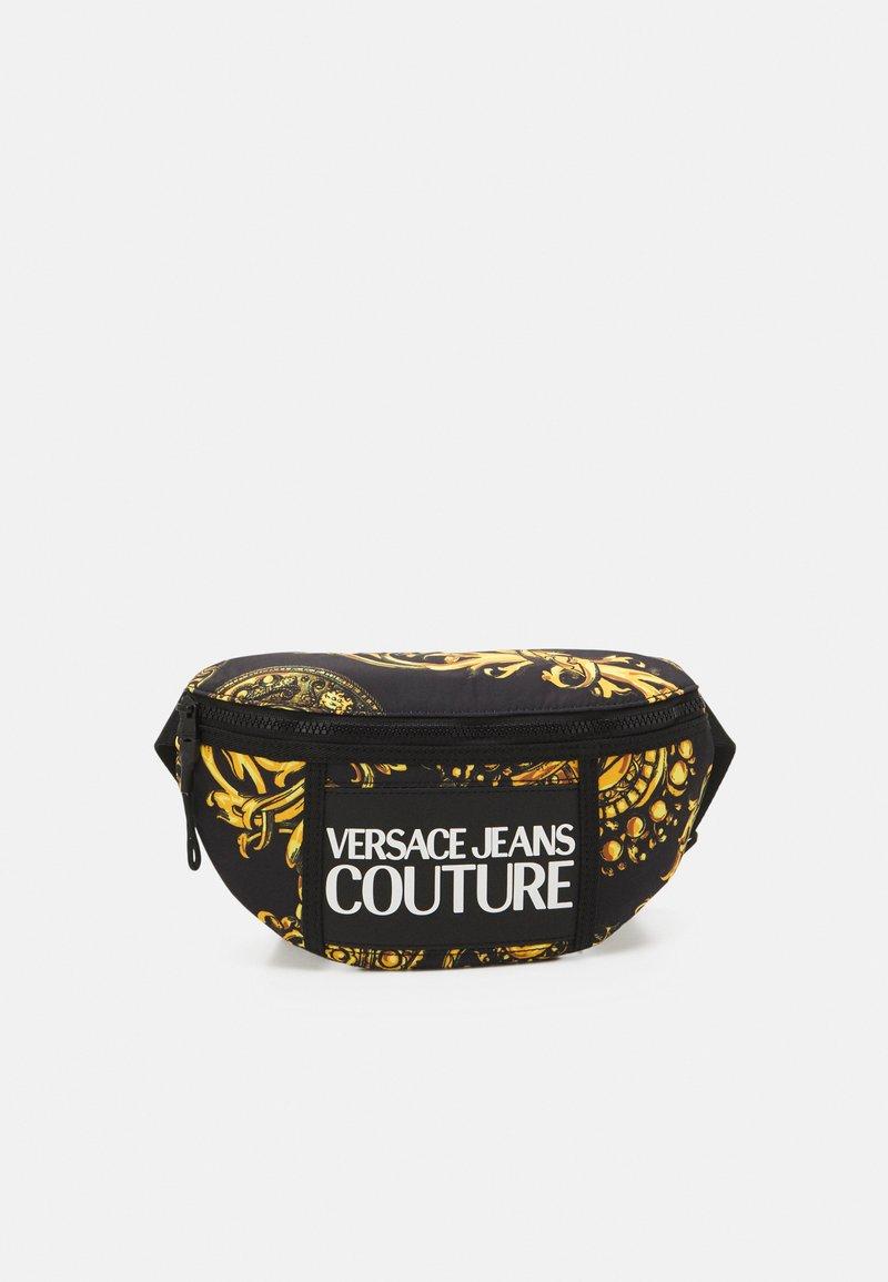 Versace Jeans Couture - RANGE LOGO TYPE UNISEX - Marsupio - nero/oro