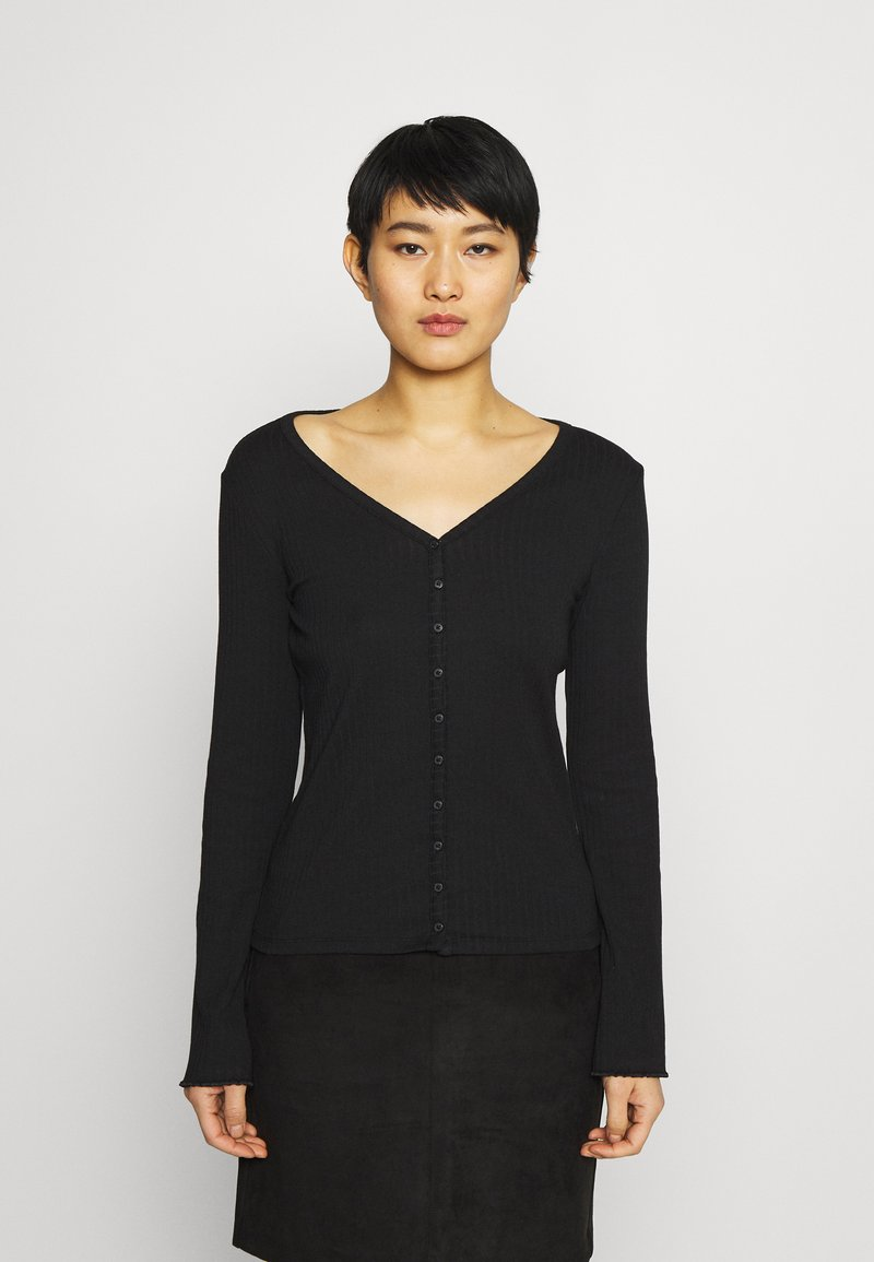 GAP - CARDI - Cardigan - true black