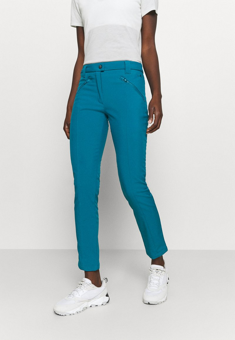 CMP - WOMAN LONG PANT - Outdoor trousers - deep lake