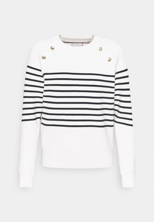 BUTTON - Pullover - ecru