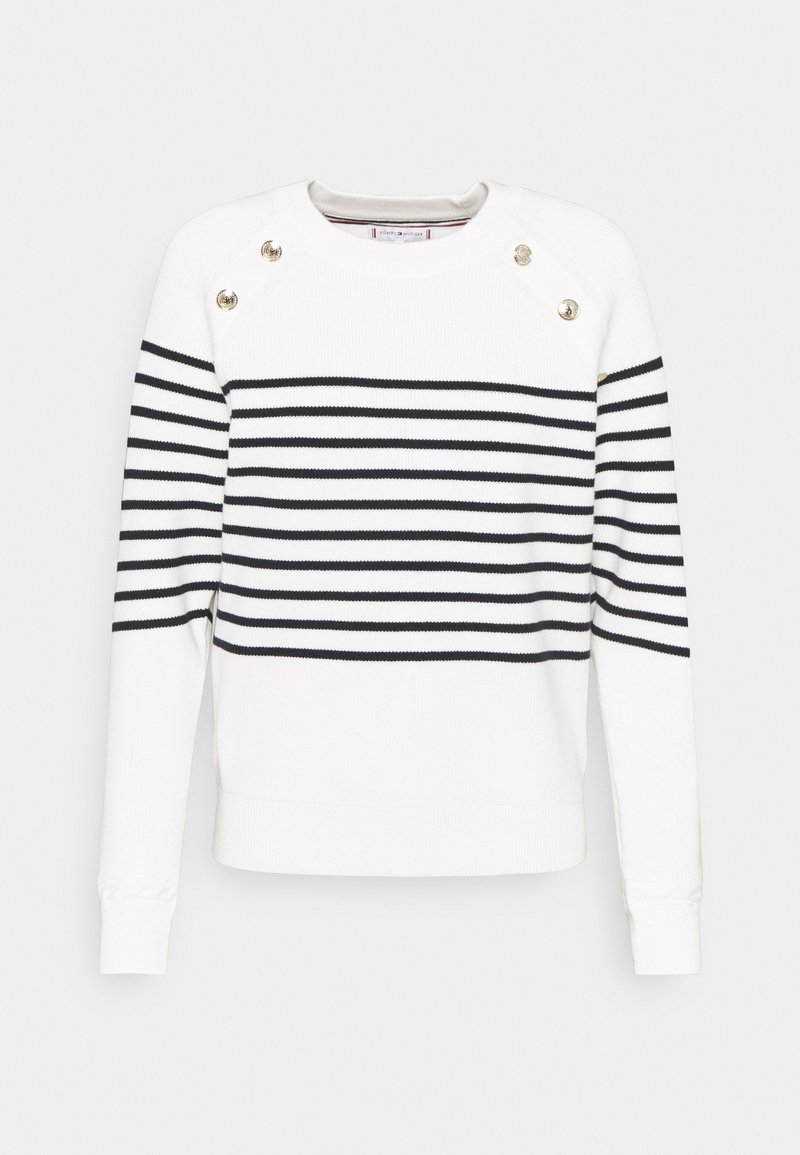 Tommy Hilfiger - BUTTON - Jumper - ecru