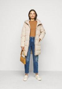 ONLY Petite - ONLDOLLY LONG PUFFER COAT - Winter coat - humus - 1