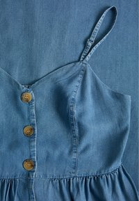 ONLY - ONLCUMA LIFE BUTTON DOWN - Dongerikjole - medium blue denim - 2