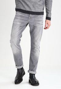 Scotch & Soda - STONE AND SAND - Slim fit jeans - cement melange - 0