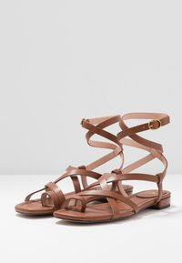 J.CREW - TOE STRAPPY LUCY  - Tongs - warm sepia - 4