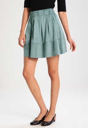 KIA - A-line skirt - adriatic blue