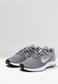 Nike Performance - DOWNSHIFTER  - Neutral running shoes - cool grey/metallic silver/wolf grey - 2