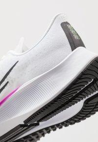 Nike Performance - AIR ZOOM PEGASUS 37 - Neutral running shoes - white/flash crimson/hyper violet - 6