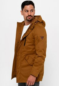 INDICODE JEANS - Parka - rubber - 4