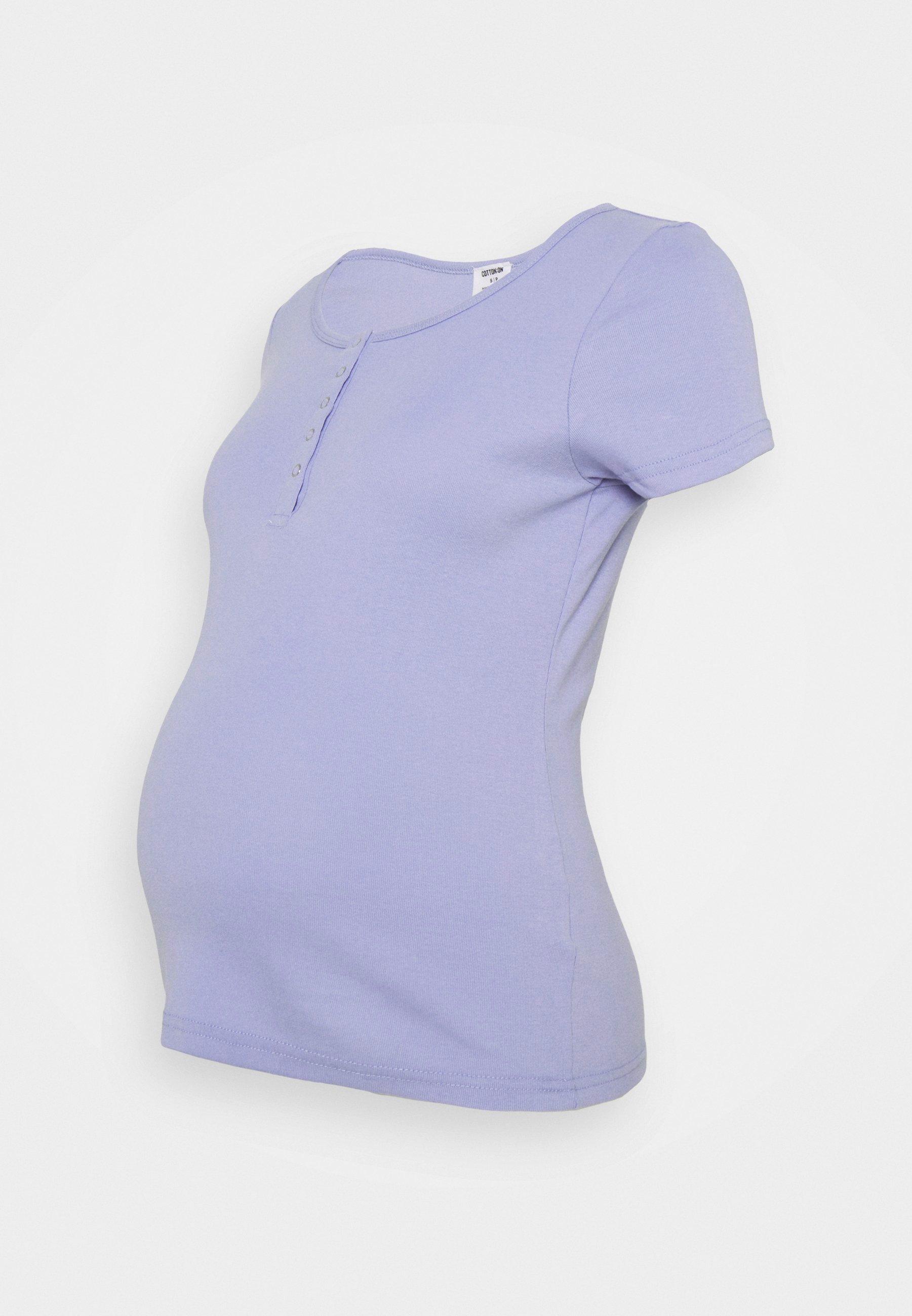 Damen MATERNITY HENLEY SHORT SLEEVE - T-Shirt print